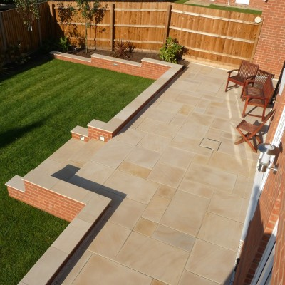 Stoneflair By Bradstone Smooth Natural Sandstone Paving
